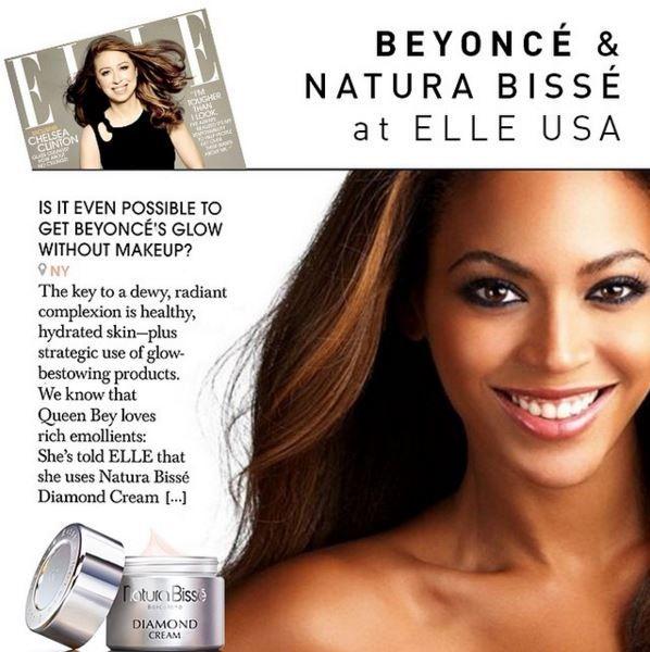 ¿Cómo conseguir el brillo natural de Beyoncé sin maquillaje? La estrella internacional confiesa a la revista @elleusa que DIAMOND CREAM es su secreto Beauty.  En nuestro espacio de belleza Stage Beauty lo puedes conseguir  https://www.instagram.com/stagebeautycordoba/  #naturabisseCórdoba #CórdobaESP #StagebeautyCórdoba