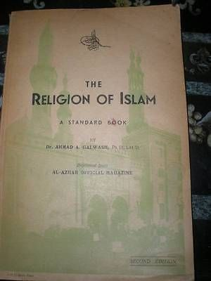 The Religion Of Islam by DR Ahmed A. Galwash 1945 in Books, Antiquarian & Collectible | eBay