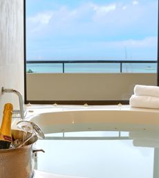 This is the way to vacation.Occidental Grand Aruba - Premium Jacuzzi Ocean Front room #aioutlet #Aruba