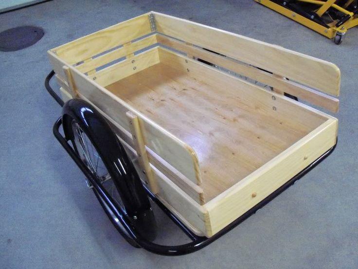 old school style bike trailer