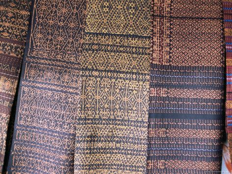 Pemo and Woloara Traditional Villages and Ikat Handwoven (weaving) in Ende Flores Island - East Nusa Tenggara - Indonesia