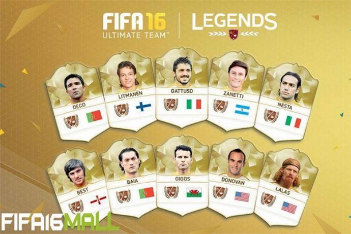 FIFA Online 3 Hàn ra mắt 10 World Legend mới