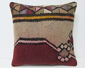 kilim pillow 18 tapestry pillow cover boho bedroom chair pillow case large floor cushion urban throw pillow ethnic rug bed pillow sham 23436