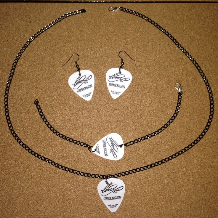 Image of Signature plectrum jewellery bundle
