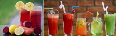 Como Bajar de Peso Sano: Cómo preparar agua saborizada casera