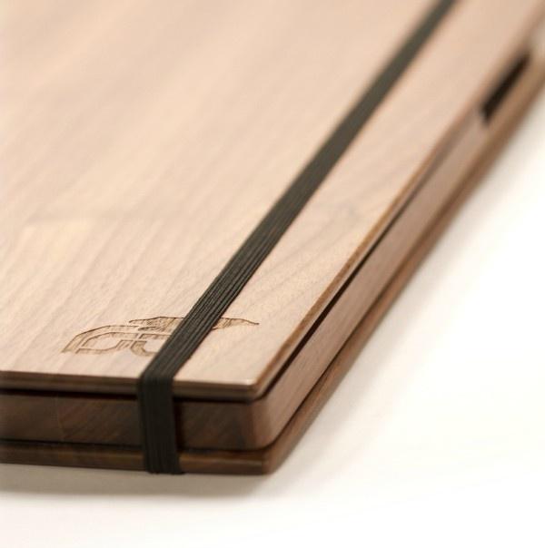 Wood iPad 2 Case - Walnut