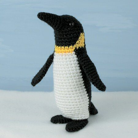 emperor penguin crochet pattern by planetjune