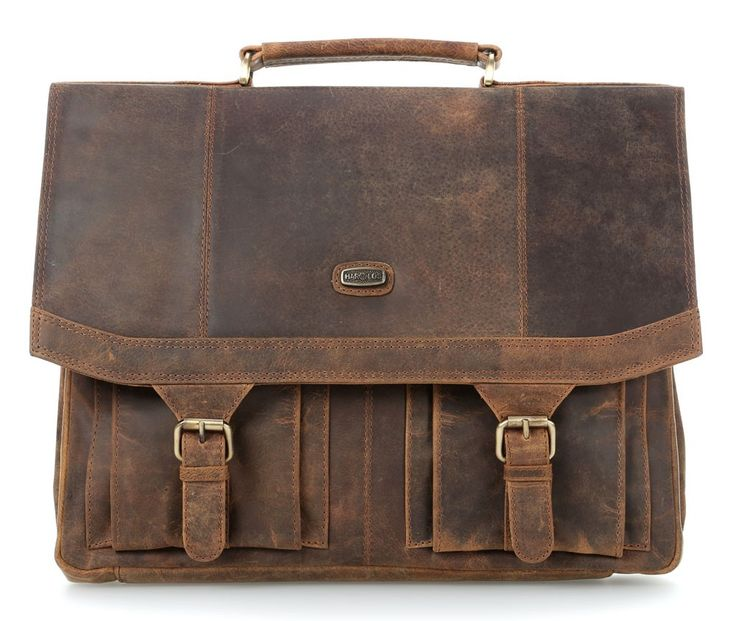 wardow.com - #Harolds Antico Aktentasche Leder natur 40 cm  #vintage #retro # look #fashion