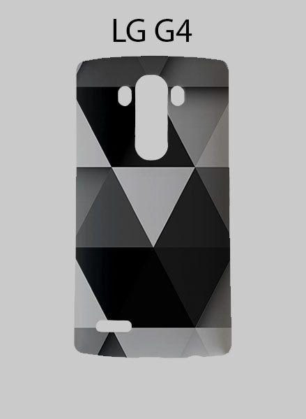 Black Grey Triangle LG G4 Case Cover