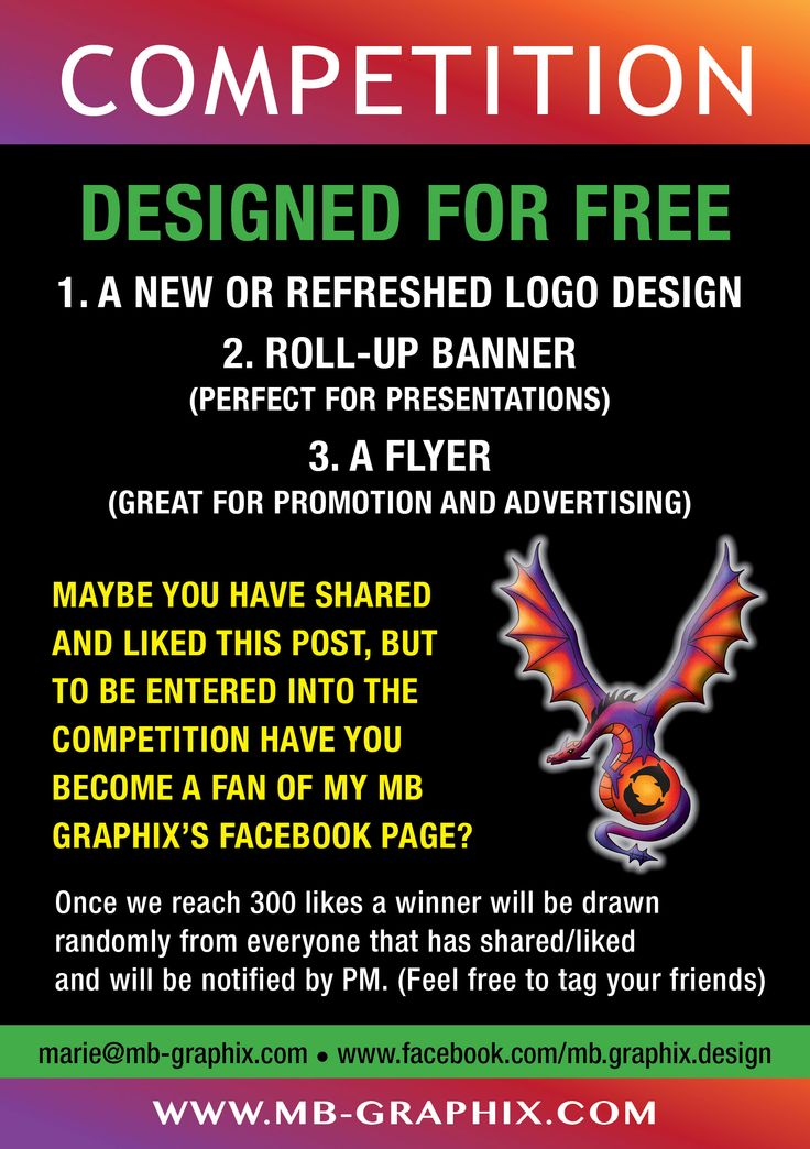 Share: https://www.facebook.com/mb.graphix.design?ref=hl  and like to be entered into a competition to WIN FREE Designs