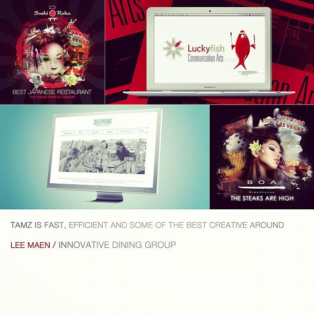 """Fast, Efficient and Some of the Best Creative Around"" - Lee Maen"