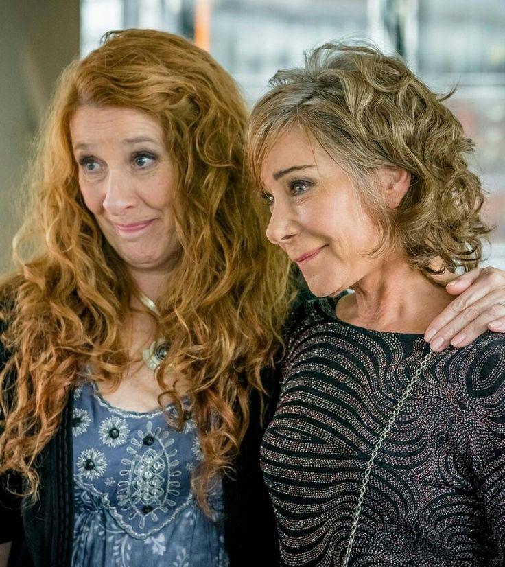 Phyllis Logan as Linda and Zoe Wanamaker as Gail in GIRLFRIENDS