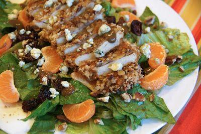 Pecan Crusted Chicken Salad (like Applebee's)