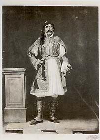 Filippos Margaritis, General Christodoulos Hadjipetros, c.1855 (Filippos Margaritis was the first Greek photographer.)