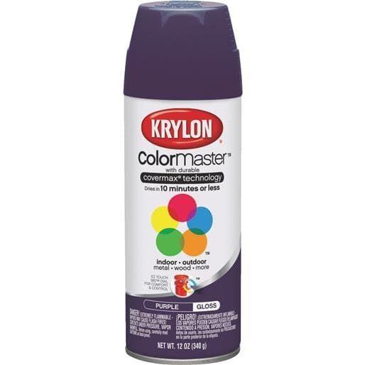 Krylon/Consumer Div Gloss Purple Spray Paint K05191307 Unit: Each