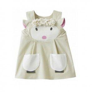 Wild Things Girl's Lamb Dress