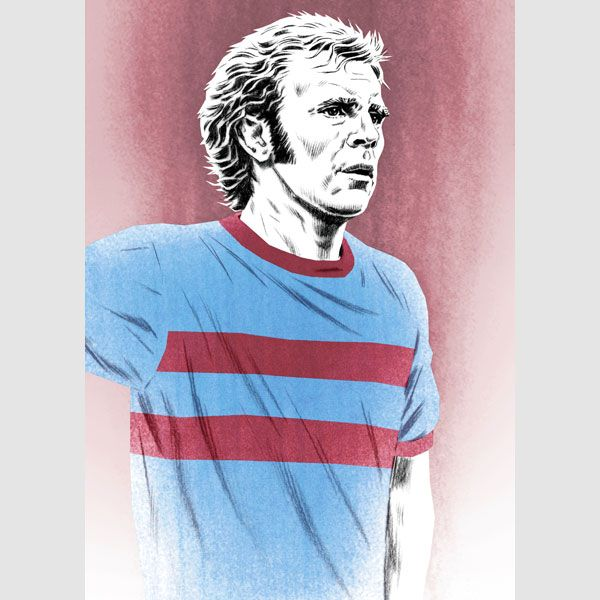 West Ham's Bobby Moore, cool calm & collected https://www.etsy.com/uk/listing/199132509/bobby-moore-west-ham-england-portrait?ref=shop_home_active_14