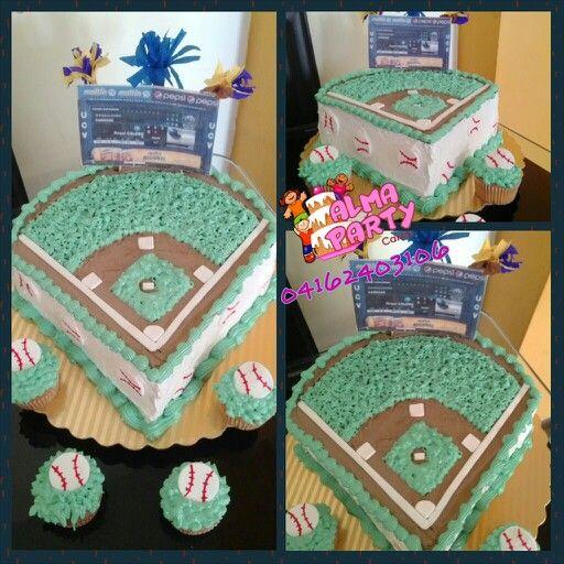 Torta campo de beisbol