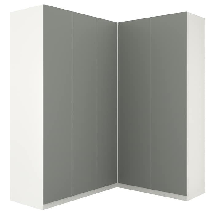in wardrobe green whiteReinsvoll gray Corner PAX IKEA xhrQdCBst
