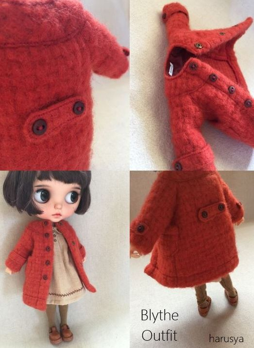 * Blythe outfit · coat · clothes set * - Yahoo auctions!
