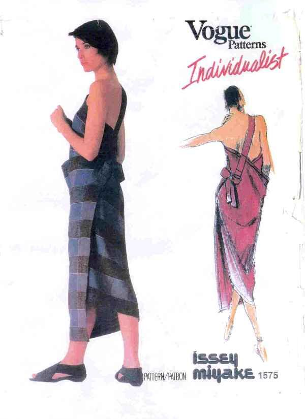 Issey Miyake Vogue Pattern when I was a teen I collected pattern books and this was one of my favorite patterns