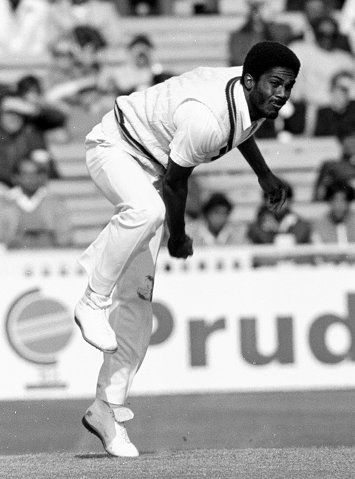 "Michael Holding: In my mind, one of the greatest fast bowlers of all time. He helped usher in one of the greatest eras in the history of the game. A speed merchant with a temper. Venomous comes to mind. Yet so graceful and elegant. The nickname ""Whispering Death"" was understood by all who faced him."