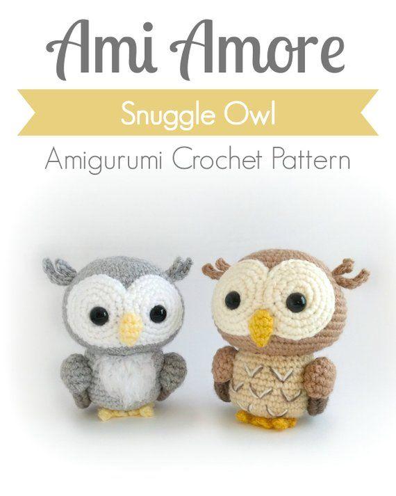 Free crochet owl amigurumi pattern - Amigurumi Today | 713x570