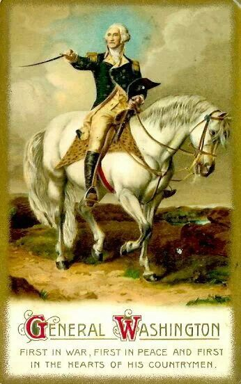 George Washington, the father figure of Lafayette, led the Continental Army in the Revolutionary War.