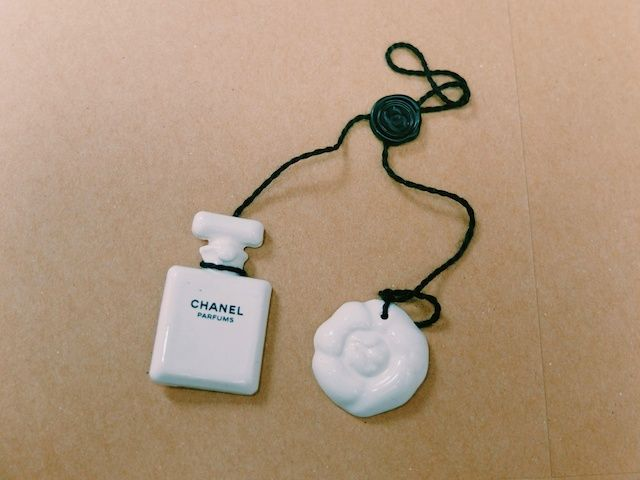 My prized Chanel ceramic blotters