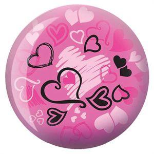 Viz-A-Ball Hearts Glow