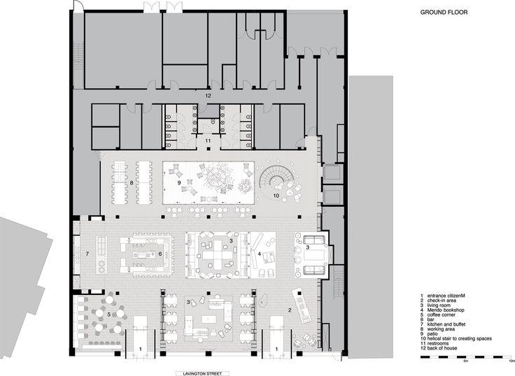 Best CitizenM Hotel Images On Pinterest Design Hotel Hotels - Citizenm london bankside by concrete architectural associates