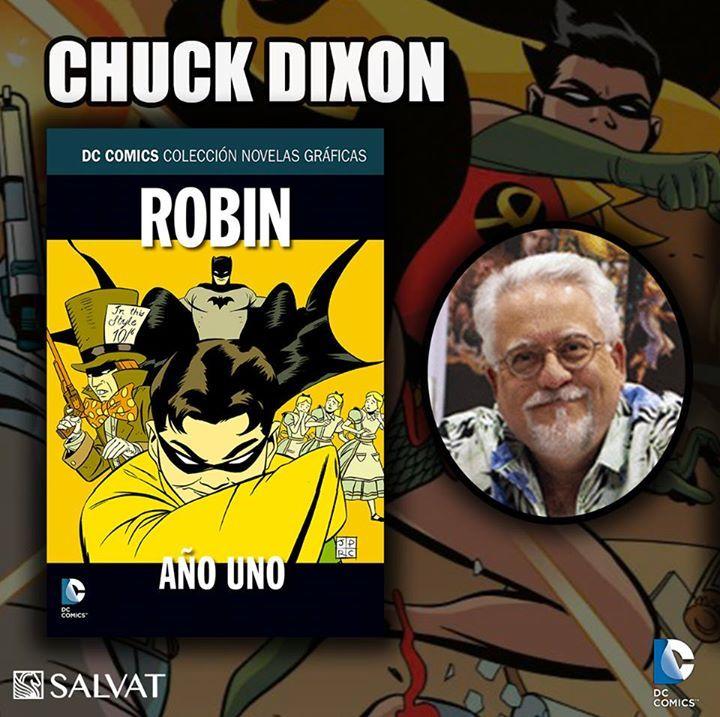 CHUCK DIXON es un guionista de cómics que saltó a la fama durante la década de los noventa como uno de los escritores principales de los títulos de Batman. Comenzó su carrera de escritor a mediados de 1980 con Evangeline para Comico y Airboy para Eclipse Comics, en los que desarrolló un estilo conciso que combina un enfoque directo y realista con una tramas apasionantes. Ha escrito varias obras para DC Comics, especialmente para Detective Comics, Nightwing y Robin, con más de 100 números…