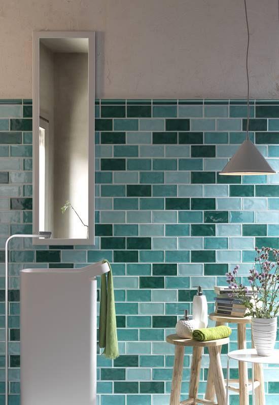 Kuchyňské obklady 10x30, lesklý povrch, zestařený retro design | Série obkladů | SIKO KOUPELNY