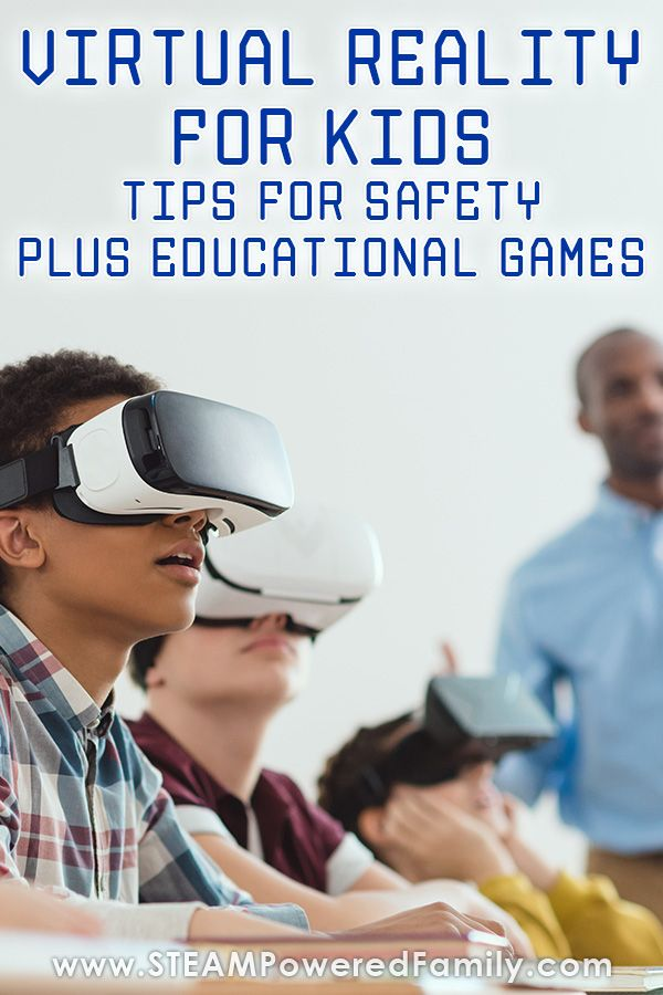 Vr For Kids Plus Educational Games For Homeschool Or Classroom Education Educational Games Educational Games For Kids