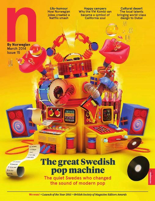 From the Cardigans to ABBA, there's something about the acts that Sweden produces. Read about the Swedish pop machine in N by Norwegian magazine, on-board all Norwegian Air Shuttle flights now.