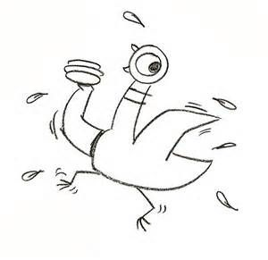 pigeon coloring pages mo willems - photo#22