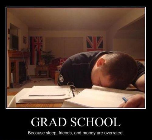 Truth about grad school