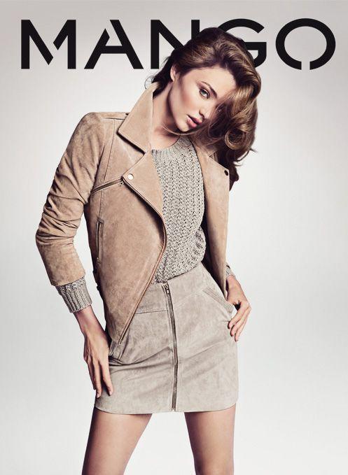 Miranda Kerr for Mango Spring 2013
