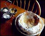 Dutch Baby  A Dutch baby pancake, sometimes called a German pancake, a Bismarck, or a Dutch puff, is a sweet breakfast dish similar to Yorks...