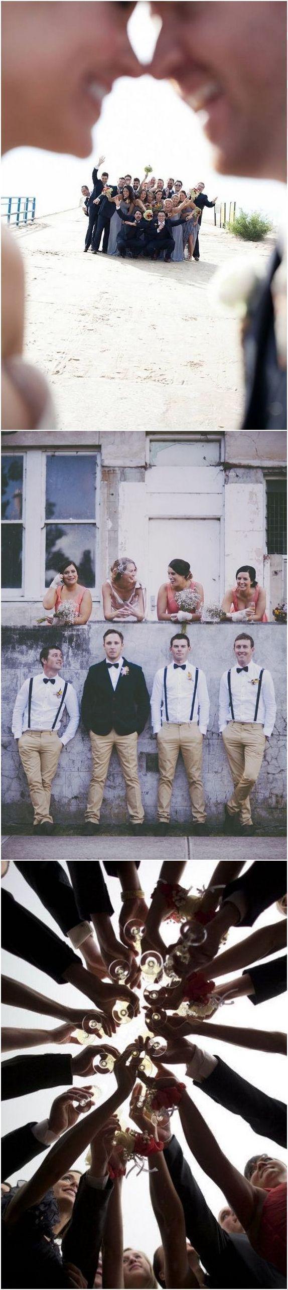 funny groomsmen wedding photo ideas / http://www.deerpearlflowers.com/fun-groomsmen-photo-ideas-and-poses/ #weddings #photos #weddingphotos #funnyweddingphotos