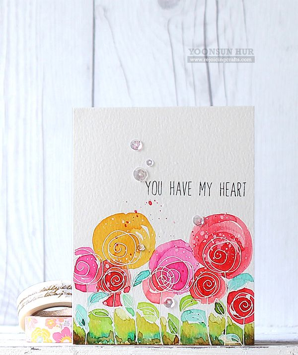 Simon Says Stamps and Dies ROSES FOR YOU SetRY241 You Have My Heart at Simon Says STAMP!