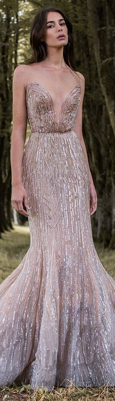 Paolo Sebastian 2016/17 Autumn Winter - Gilded Wings. #nude #elegant #sexy…