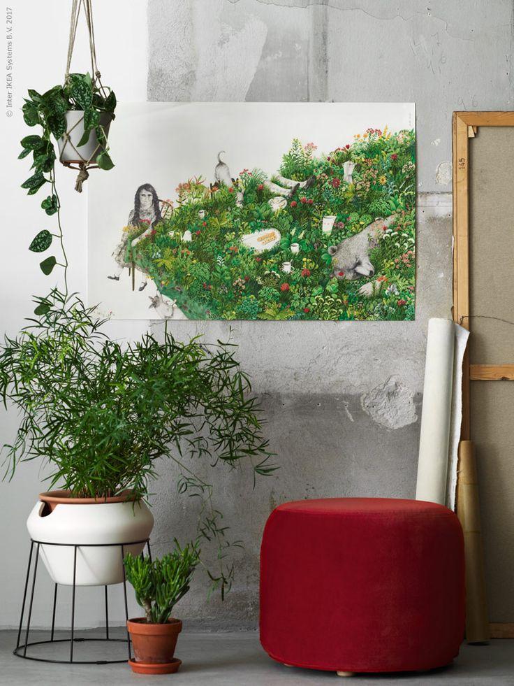 Kunst in deinem Wohnzimmer - mit unserer limitierten Kollektion IKEA ART EVENT 2017. Ab April online und in deinem IKEA Einrichtungshaus.