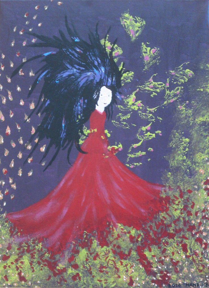 Purple Nights - Illustratie