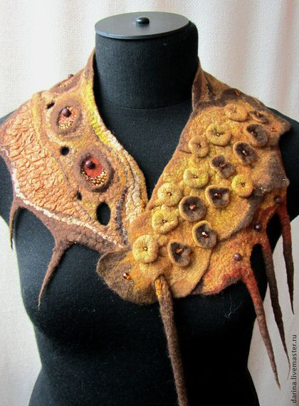 Felted Shoulder Wrap
