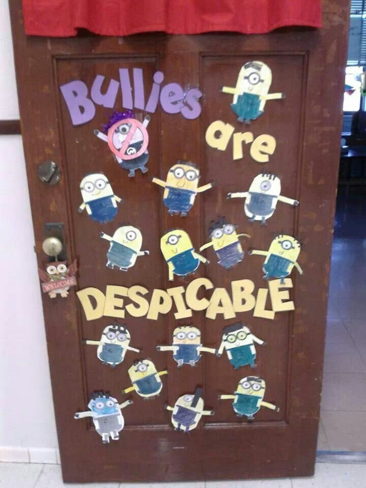 Classroom Decoration Superhero ~ Anti bullies bulletin board ideas pinterest minions
