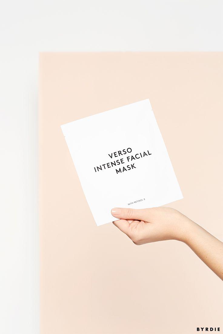 Verso Intense Facial Mask or Deep Hydration Mask