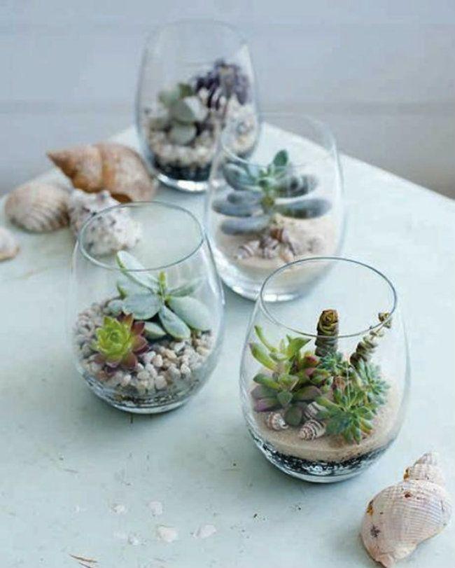 26 magníficos minijardines tan pequeños que caben en la palma de una mano