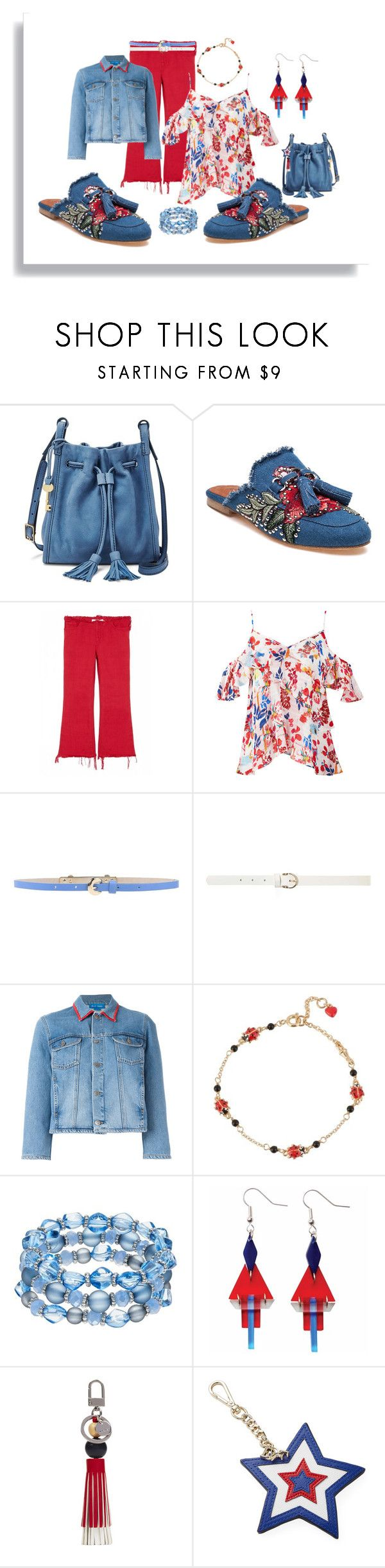 """""""Roses on the feet"""" by kelli-bailey-ouimet ❤ liked on Polyvore featuring FOSSIL, Jeffrey Campbell, Marques'Almeida, Tanya Taylor, KI6? Who Are You?, Dorothy Perkins, M.i.h Jeans, Les Néréides, Toolally and Nine West"""