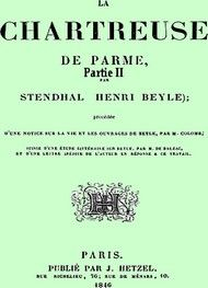 Illustration: La Chartreuse de Parme Partie 2 - Stendhal